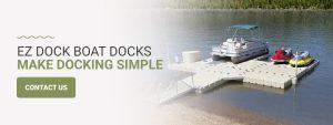 EZ Dock boat docks make docking simple