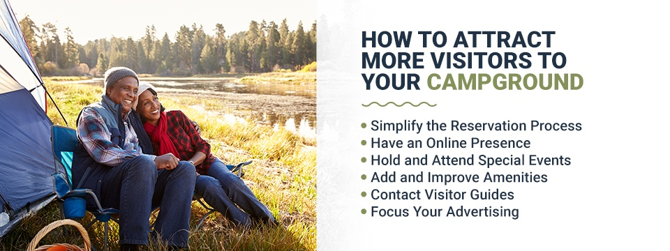 How to attract more visitors to your campground