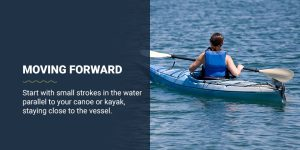 How to move your kayak forward