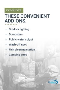 Making campgrounds convenient