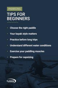 Paddling tips for beginners