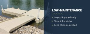 Low maintenance swim platforms