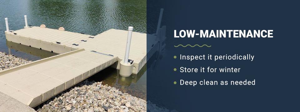 Low maintenance swim platforms