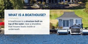What is a boathouse?