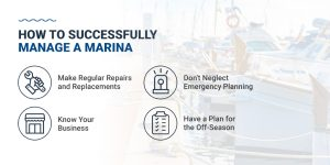 How to successfully manage a marina