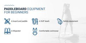 Paddleboard Equipment for Beginners