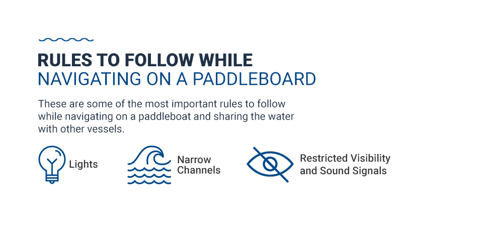 Rules to Follow While Navigating on a Paddleboard