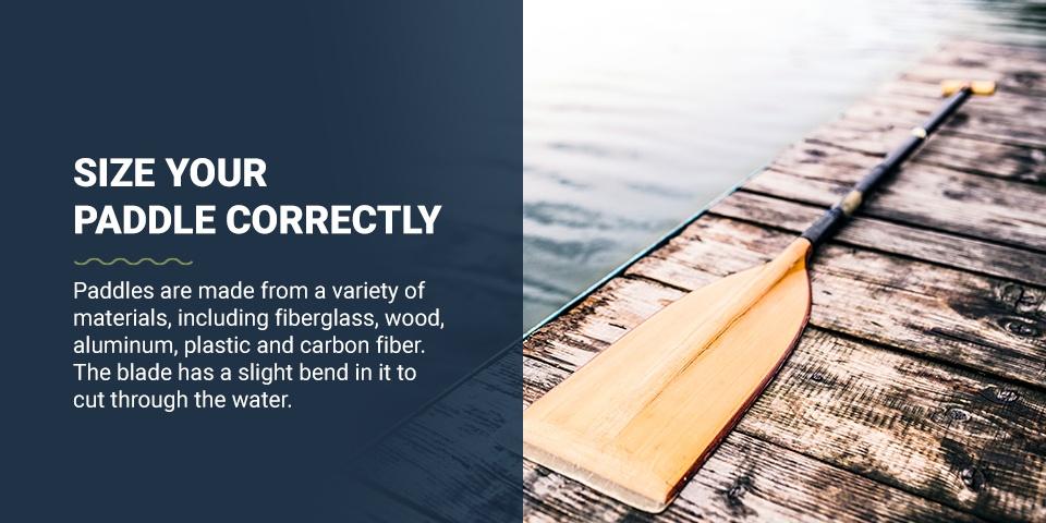 Size your Paddle Correctly