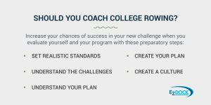 Should you Coach College Rowing?