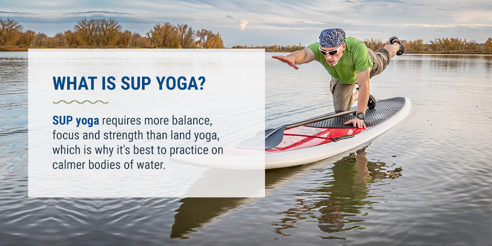 What is SUP Yoga?