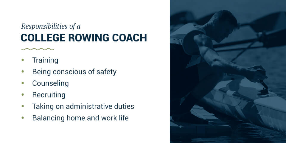 Responsibilities of a College Rowing Coach
