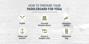 How to Prepare Your Paddleboard For Yoga